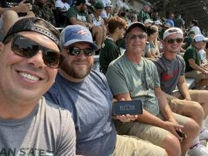 Nick attended Michigan State Spartans vs. Youngstown State Penguins - NCAA Football on Sep 11th 2021 via VetTix