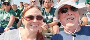 Mike F attended Michigan State Spartans vs. Youngstown State Penguins - NCAA Football on Sep 11th 2021 via VetTix