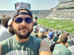 Jon J attended Michigan State Spartans vs. Youngstown State Penguins - NCAA Football on Sep 11th 2021 via VetTix