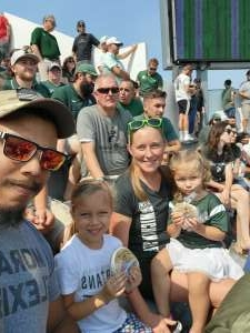 Dusty attended Michigan State Spartans vs. Youngstown State Penguins - NCAA Football on Sep 11th 2021 via VetTix