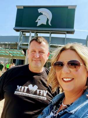 Sean attended Michigan State Spartans vs. Youngstown State Penguins - NCAA Football on Sep 11th 2021 via VetTix