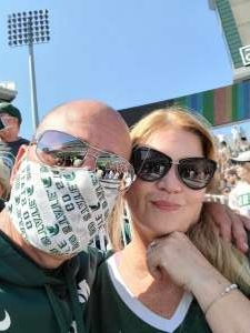 Sgt. Alvarez USMC attended Michigan State Spartans vs. Youngstown State Penguins - NCAA Football on Sep 11th 2021 via VetTix