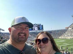 Darrick attended Michigan State Spartans vs. Youngstown State Penguins - NCAA Football on Sep 11th 2021 via VetTix