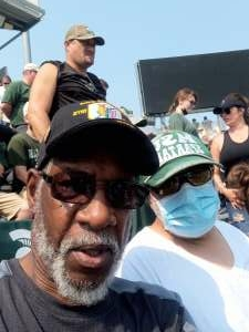 Leonard  attended Michigan State Spartans vs. Youngstown State Penguins - NCAA Football on Sep 11th 2021 via VetTix