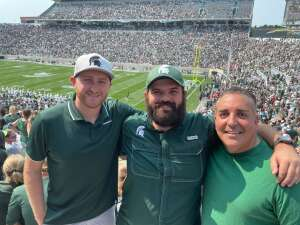 mosteger attended Michigan State Spartans vs. Youngstown State Penguins - NCAA Football on Sep 11th 2021 via VetTix