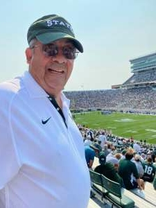 Bill Bogle attended Michigan State Spartans vs. Youngstown State Penguins - NCAA Football on Sep 11th 2021 via VetTix