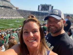 Adam attended Michigan State Spartans vs. Youngstown State Penguins - NCAA Football on Sep 11th 2021 via VetTix