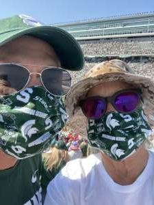 Mike  attended Michigan State Spartans vs. Youngstown State Penguins - NCAA Football on Sep 11th 2021 via VetTix