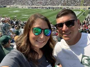 Craig attended Michigan State Spartans vs. Youngstown State Penguins - NCAA Football on Sep 11th 2021 via VetTix