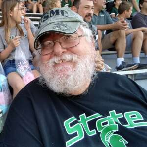 Pat Chupp attended Michigan State Spartans vs. Youngstown State Penguins - NCAA Football on Sep 11th 2021 via VetTix