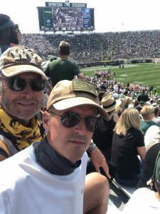 Go Green  attended Michigan State Spartans vs. Youngstown State Penguins - NCAA Football on Sep 11th 2021 via VetTix