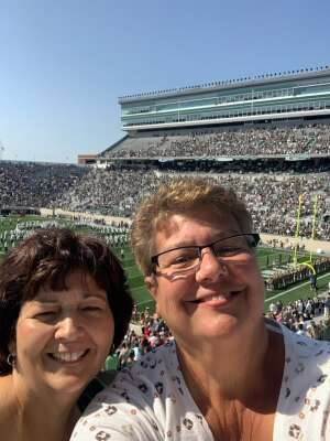 Dan P attended Michigan State Spartans vs. Youngstown State Penguins - NCAA Football on Sep 11th 2021 via VetTix