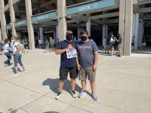 Sparty Win attended Michigan State Spartans vs. Youngstown State Penguins - NCAA Football on Sep 11th 2021 via VetTix