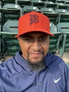 HB attended Detroit Tigers vs. Texas Rangers - MLB on Jul 21st 2021 via VetTix
