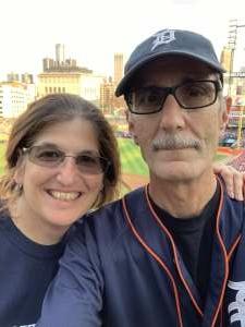Howard Sherman attended Detroit Tigers vs. Texas Rangers - MLB on Jul 21st 2021 via VetTix