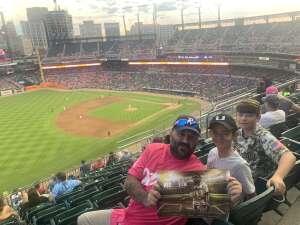 Tigers game  attended Detroit Tigers vs. Texas Rangers - MLB on Jul 21st 2021 via VetTix