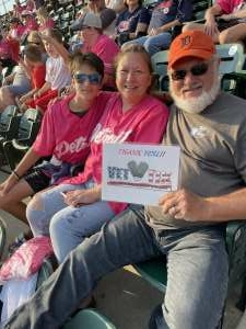 Alan Davis attended Detroit Tigers vs. Texas Rangers - MLB on Jul 21st 2021 via VetTix