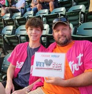 Chris attended Detroit Tigers vs. Texas Rangers - MLB on Jul 21st 2021 via VetTix