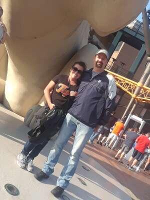 Darin attended Detroit Tigers vs. Texas Rangers - MLB on Jul 21st 2021 via VetTix