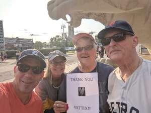 RJM attended Detroit Tigers vs. Texas Rangers - MLB on Jul 21st 2021 via VetTix