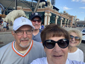 Brad attended Detroit Tigers vs. Texas Rangers - MLB on Jul 21st 2021 via VetTix
