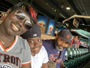 LaShawn H. attended Detroit Tigers vs. Texas Rangers - MLB on Jul 21st 2021 via VetTix