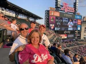 Kate attended Detroit Tigers vs. Texas Rangers - MLB on Jul 21st 2021 via VetTix