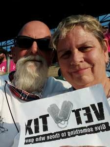 David  attended Detroit Tigers vs. Texas Rangers - MLB on Jul 21st 2021 via VetTix