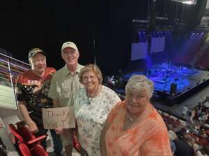 Darrell  attended An Evening With Frankie Valli and the Four Seasons on Jul 23rd 2021 via VetTix