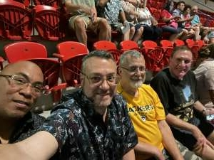 Alvinv777 attended An Evening With Frankie Valli and the Four Seasons on Jul 23rd 2021 via VetTix