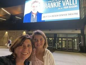 Joy Staab attended An Evening With Frankie Valli and the Four Seasons on Jul 23rd 2021 via VetTix