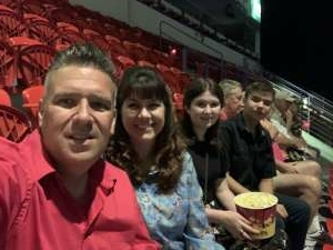 Scott attended An Evening With Frankie Valli and the Four Seasons on Jul 23rd 2021 via VetTix