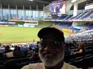 Rowland  attended Miami Marlins vs. San Diego Padres - MLB on Jul 23rd 2021 via VetTix