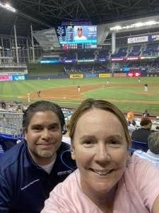 Lanita attended Miami Marlins vs. San Diego Padres - MLB on Jul 23rd 2021 via VetTix