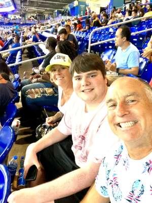 Jeff attended Miami Marlins vs. San Diego Padres - MLB on Jul 23rd 2021 via VetTix