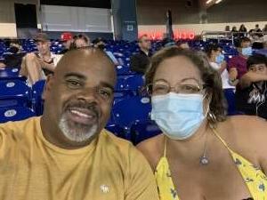 Hatto attended Miami Marlins vs. San Diego Padres - MLB on Jul 23rd 2021 via VetTix