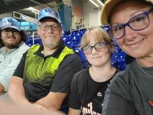 Greg attended Miami Marlins vs. San Diego Padres - MLB on Jul 23rd 2021 via VetTix