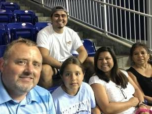 Night at the Ballpark attended Miami Marlins vs. San Diego Padres - MLB on Jul 23rd 2021 via VetTix