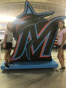 Wilson Perez attended Miami Marlins vs. San Diego Padres - MLB on Jul 23rd 2021 via VetTix