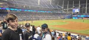 Mike B attended Miami Marlins vs. San Diego Padres - MLB on Jul 23rd 2021 via VetTix