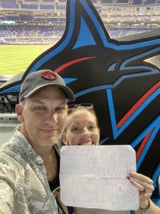 Darren M attended Miami Marlins vs. San Diego Padres - MLB on Jul 23rd 2021 via VetTix