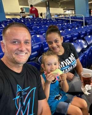 TonyP attended Miami Marlins vs. San Diego Padres - MLB on Jul 23rd 2021 via VetTix