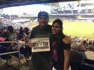 Pedro T. Lopez attended Miami Marlins vs. San Diego Padres - MLB on Jul 25th 2021 via VetTix