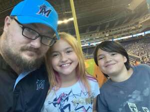 James  attended Miami Marlins vs. San Diego Padres - MLB on Jul 25th 2021 via VetTix