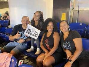 Raul Menendez attended Miami Marlins vs. San Diego Padres - MLB on Jul 25th 2021 via VetTix