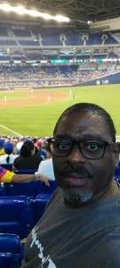 George S. attended Miami Marlins vs. San Diego Padres - MLB on Jul 25th 2021 via VetTix