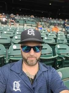 Robert  attended Detroit Tigers vs. Texas Rangers - MLB on Jul 22nd 2021 via VetTix