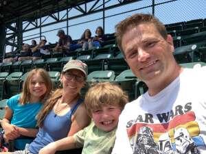Kids first MLB Game attended Detroit Tigers vs. Texas Rangers - MLB on Jul 22nd 2021 via VetTix