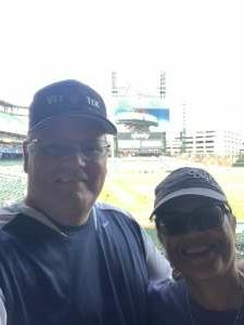 Dan attended Detroit Tigers vs. Texas Rangers - MLB on Jul 22nd 2021 via VetTix