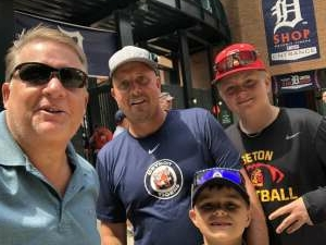 Jim attended Detroit Tigers vs. Texas Rangers - MLB on Jul 22nd 2021 via VetTix